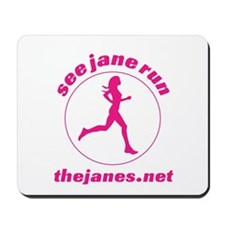 See Jane Run Mousepad