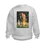 Fairies & Boxer Kids Sweatshirt
