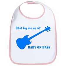 Baby on Bass -  Bib