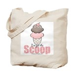 Strawberry Chocolate Ice Cream Cone Tote Bag