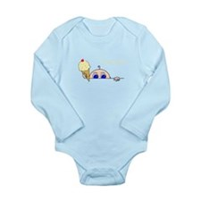 I Scream Peek-A-Boo Baby Ice Cream Body Suit