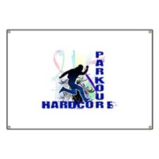 Free Running Parkour Hardcore Banner