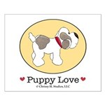 Puppy Love Small Poster 16x20 inches