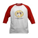 Puppy Love Kids Baseball Jersey