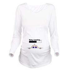 Baby Loading Baby Peeking Maternity Long Sleeve Ma