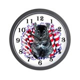 Chinny Patriot Wall Clock