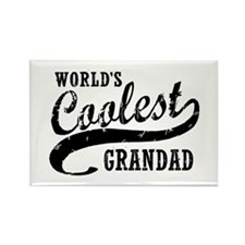 World's Coolest Grandad Rectangle Magnet
