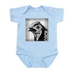 Graphic Cock Infant Bodysuit