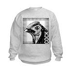 Graphic Cock Kids Sweatshirt
