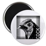Graphic Cock Magnet