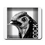 Graphic Cock Mousepad