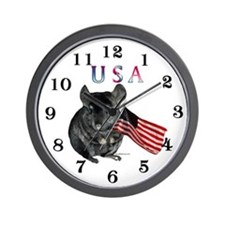 Chin USA Wall Clock