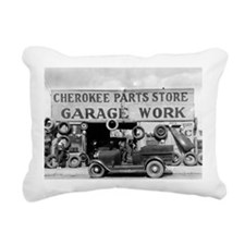 Cherokee Parts Store Rectangular Canvas Pillow