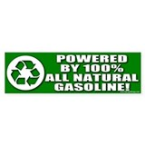 Powered By Natural Fuel Bumper Bumper Sticker