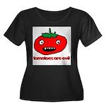 Evil Tomato Women's Plus Size Scoop