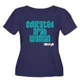 Educated Arab Woman Women's Plus Size Scoop Neck D