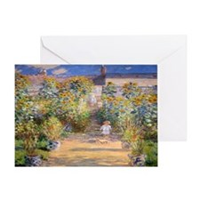 Artists Garden Greeting Card