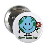 "Happy Earth Day 2.25"" Button (10 pack)"
