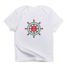 Anchor Ship Wheel Infant T-Shirt