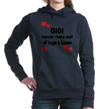 GIGI  NEVER RUNS  OUT OF HUGS  K Hooded Sweatshirt