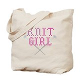 KNIT GIRL Tote Bag