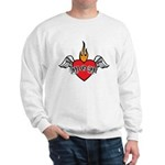 Mother's Day : Mom heart Sweatshirt