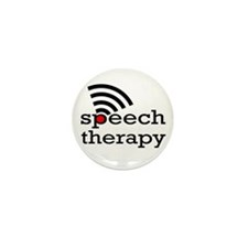 Speech Therapy Mini Button (100 pack)