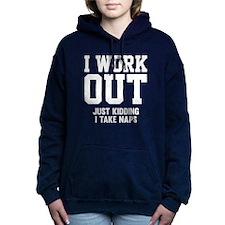 WorkOutKidding1B Hooded Sweatshirt