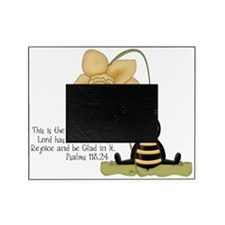 Bumble Bee with Bible Quote Picture Frame