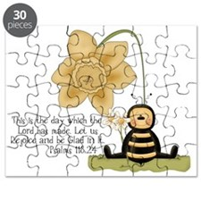 Bumble Bee with Bible Quote Puzzle