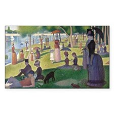 Island of La Grande Jatte Decal