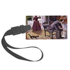 Dimanche (Sunday) Large Luggage Tag
