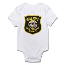 San Joaquin Sheriff Infant Bodysuit