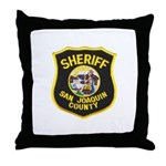 San Joaquin Sheriff Throw Pillow