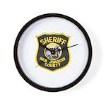 San Joaquin Sheriff Wall Clock
