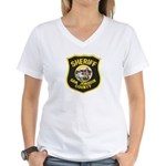 San Joaquin Sheriff Women's V-Neck T-Shirt