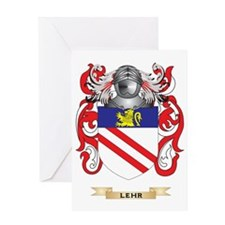 Lehr Coat of Arms - Family Crest Greeting Card