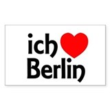 Berlin Sticker (Rectangular)