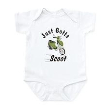 Just Gotta Scoot Italia Buddy Infant Bodysuit