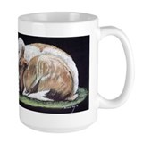 French Lop Rabbits Mug