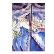 Delaunay - The Spire of N Postcards (Package of 8)