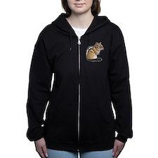 Chipmunk Cutie Zip Hoodie