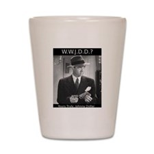 WWJDD Shot Glass