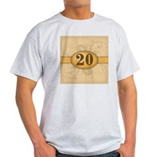 20th Birthday / Anniversary T-Shirt