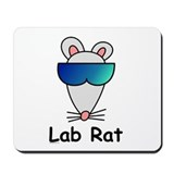 Lab Rat Mousepad