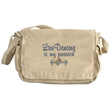 Line Dancing Passion Messenger Bag