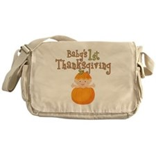 1st Thanksgiving Messenger Bag