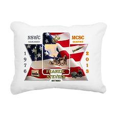 retirement Rectangular Canvas Pillow