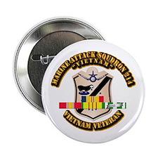 """VMA-214 w VN SVC Ribbon 2.25"""" Button"""