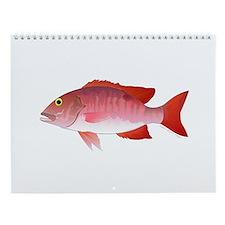 Gulf Of Mexico Fishing 1 Wall Calendar